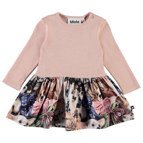 Купить Платье Molo размер 92, розовый, Платья и юбки