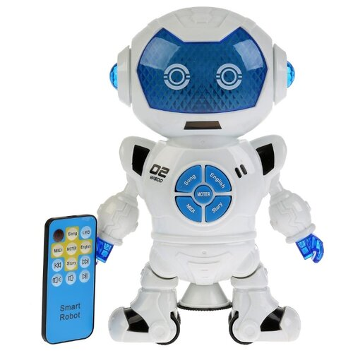 Фото - Робот 696 Toys Early Education 696-49 белый/синий 696