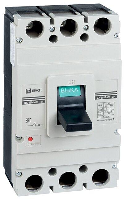 Автоматический выключатель EKF ВА-99М 3P 42kA