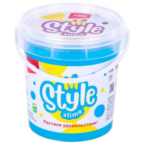 Купить Жвачка для рук LORI Style Slime перламутровый с ароматом тутти-фрутти голубой, Игрушки-антистресс