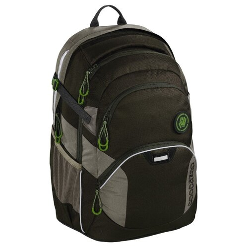 Coocazoo Рюкзак JobJobber2 Woodsman (00138714), темно-зеленый coocazoo рюкзак jobjobber2 bartik 00138718 зеленый розовый