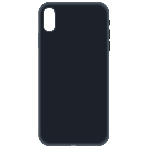 Купить Чехол LuxCase Soft Touch Premium для Apple Iphone Xs Max черный