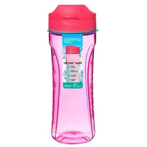 Фото - Бутылка для воды Tritan Active (600 мл), цвета в ассортименте 640 Sistem бутылка для воды tritan active 600 мл цвета в ассортименте 640 sistema