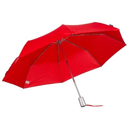 Зонт автомат Samsonite Alu Drop S (8 спиц, большая ручка) красный