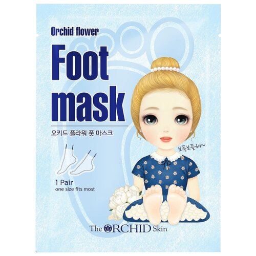 The Orchid Skin Маска-носочки Orchid flower Foot mask sheet 18 г пакет