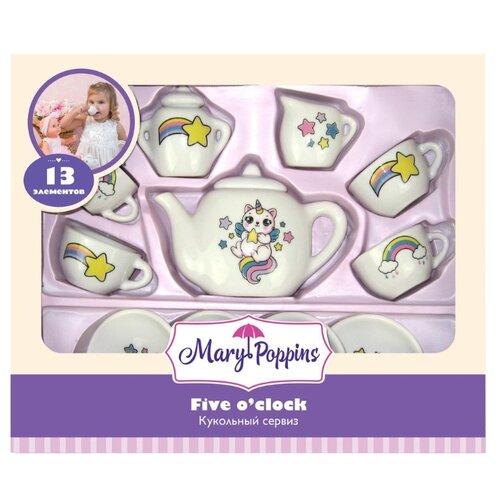 Купить Набор посуды Mary Poppins Кэттикорн 453219 белый, Игрушечная еда и посуда