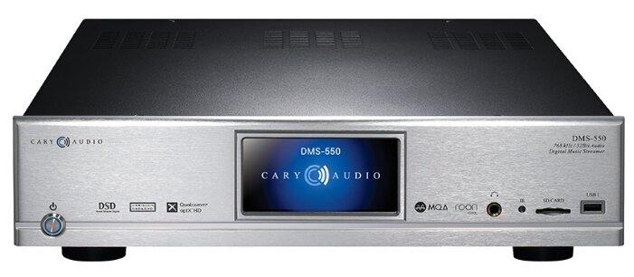Сетевой аудиоплеер Cary Audio DMS-550 серебристый