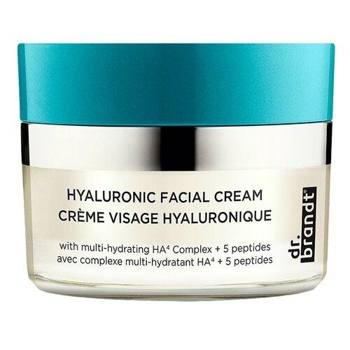 Dr. Brandt Hyaluronic Facial Cream Крем для лица с гиалуроновой кислотой, 50 мл dr brandt очищающий крем гель clean biotic 100 мл