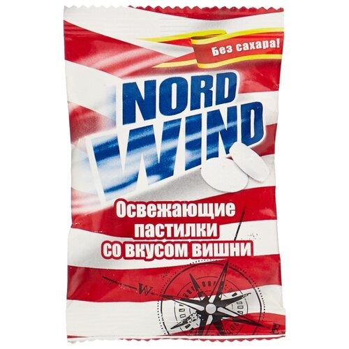 Пастилки Nord Wind освежающие со вкусом вишни без сахара 25 г горпилс лимон 12 пастилки