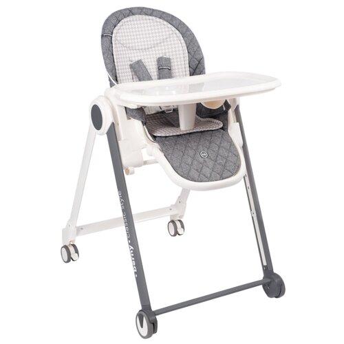 Купить Стульчик-шезлонг Happy Baby Berny Basic New dark grey, Стульчики для кормления
