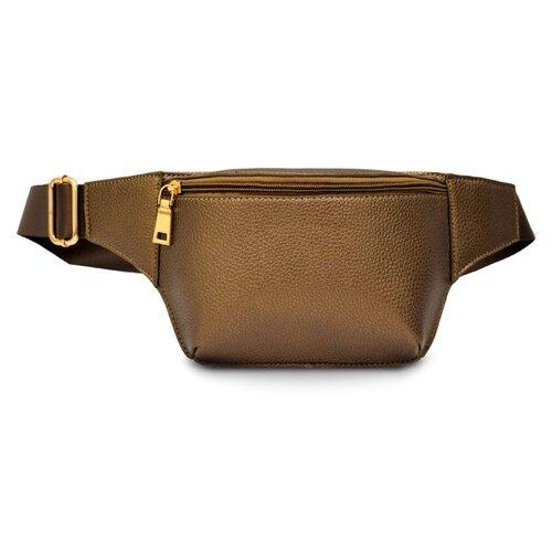 Фото - Сумка поясная Феникс+, искусственная кожа, бежевый сумка поясная solo искусственная кожа желтый