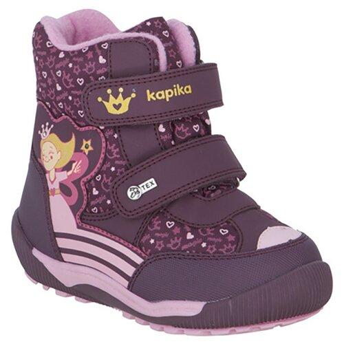 Фото - Ботинки Kapika размер 25, бордовый ботинки kapika ботинки 41254 1