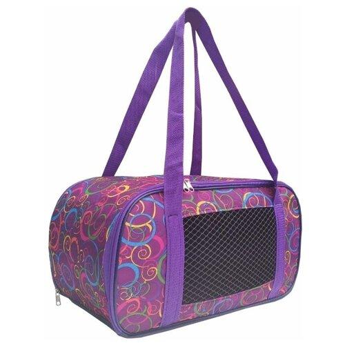 рюкзак переноска риббис bibi лён сиреневый Переноска-сумка для собак Теремок СПО-5 53х28х30 см сиреневый