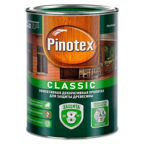 Водозащитная пропитка Pinotex Classic красное дерево 1 л пропитка pinotex ультра 9л07 красное дерево