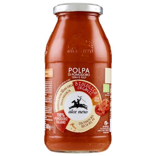 Фото - Мякоть томатов Alce Nero, 500 г макаронные изделия alce nero фузиллони био 500 г