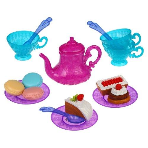 Купить Набор продуктов с посудой Mary Poppins Five O'clock 453204/453205 сиреневый, Игрушечная еда и посуда
