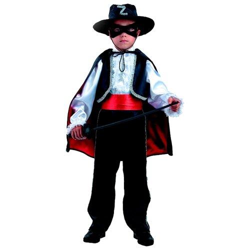 Купить Костюм Батик Зорро (7008), черный, размер 152, Карнавальные костюмы