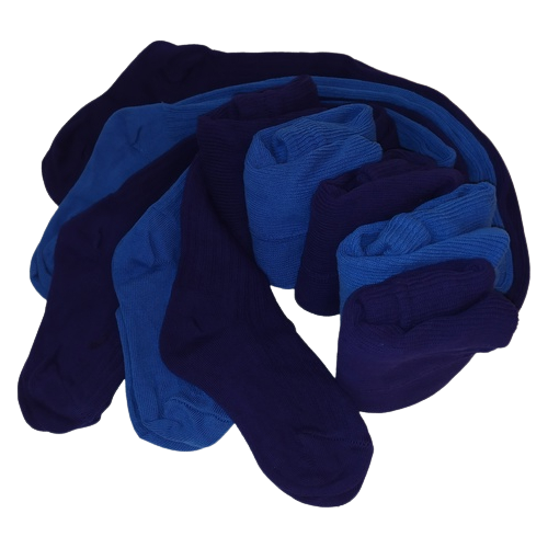 Колготки Сан-Таш, комплект 5 шт., размер 98, голубой/синий