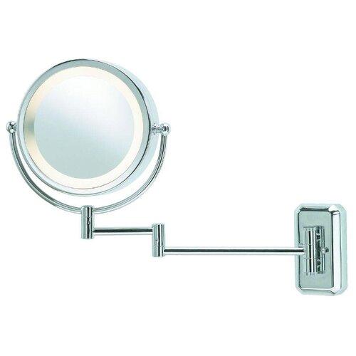 Зеркало косметическое настенное Markslojd 246012 с подсветкой хром цена 2017