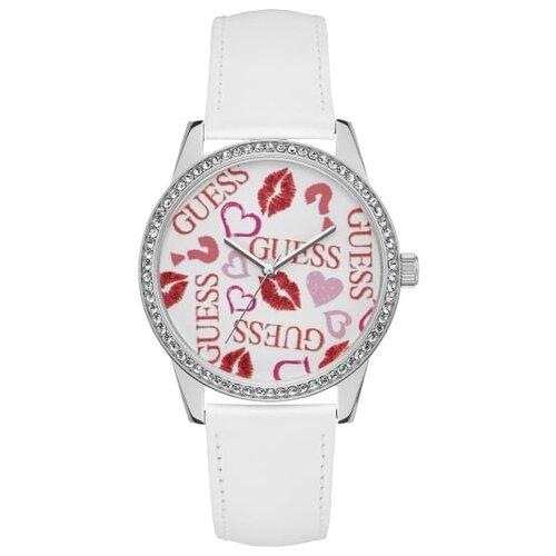 Наручные часы GUESS W1206L1 белый/красный цена 2017