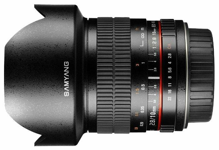 Объектив Samyang 10mm f/2.8 ED AS NCS CS Canon EF