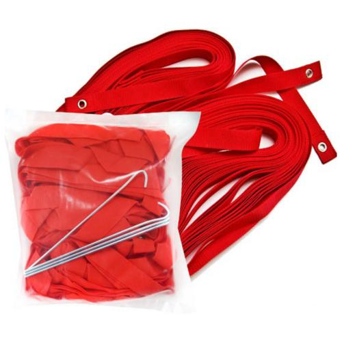 Комплект для разметки площадки для пляжного волейбола Made in Russia FS-R-№01, красный