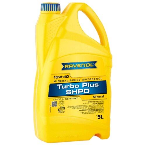 цена на Моторное масло Ravenol Turbo Plus SHPD SAE 15W-40 5 л