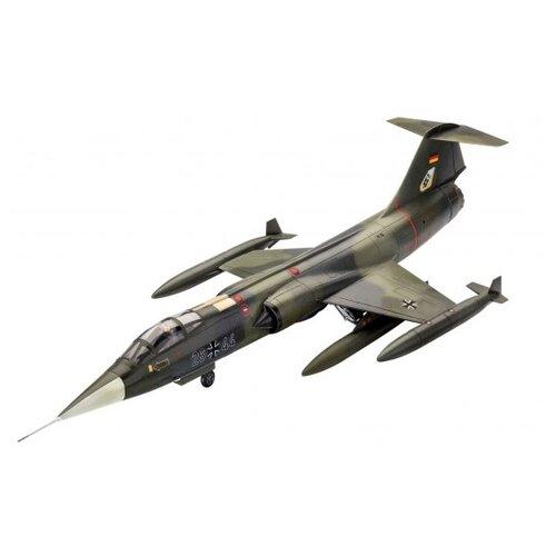 Купить Сборная модель Revell Model Set Lockheed Martin F-104G Starfighter (63904) 1:72, Сборные модели