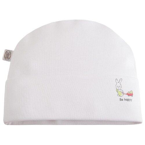 Шапка Наша мама размер 44-46(80), белый шапка ultis размер 44 46 белый с красными цветами