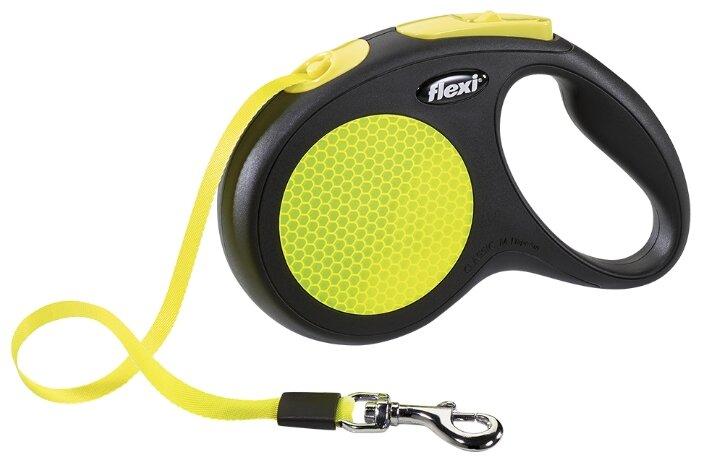 Поводок-рулетка для собак Flexi New Neon M ленточный — купить и выбрать из более, чем 12 предложений по выгодной цене на Яндекс.Маркете