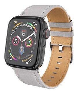 Ремешок кожаный HOCO WB04 Limited Edition для Apple Watch 38/40 Чёрный