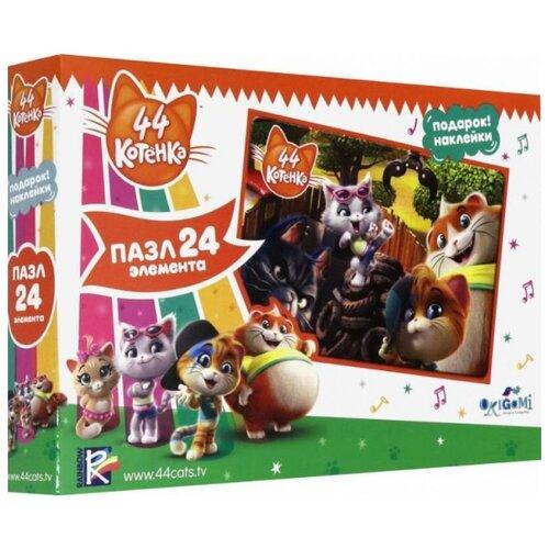 Купить Пазл Origami 44 Котенка С друзьями (05162), 24 дет., Пазлы