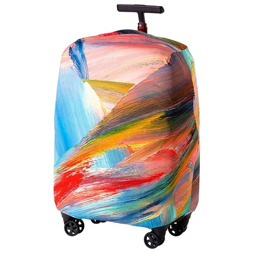 Фото - Чехол для чемодана RATEL Inspiration Wingedness L, разноцветный чехол для чемодана ratel inspiration obscurity m разноцветный
