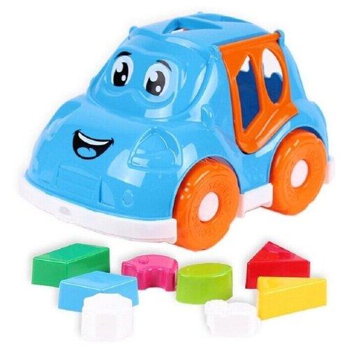 Купить Автомобиль-сортер Technok Toys, ц. голубой, ТехноК, Сортеры