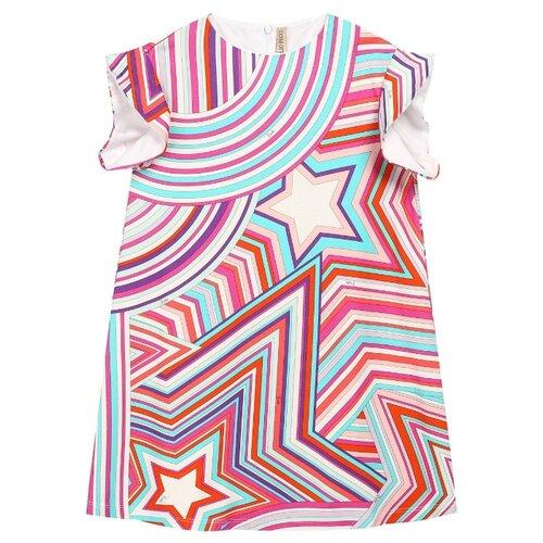 Платье Emilio Pucci размер 104, розовый/оранжевый/голубой