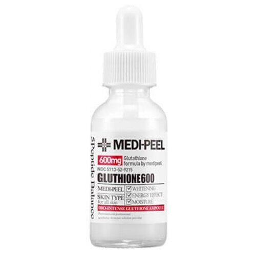 Купить MEDI-PEEL Bio-Intense Gluthione 600 White Ampoule сыворотка для лица против пигментации, 30 мл