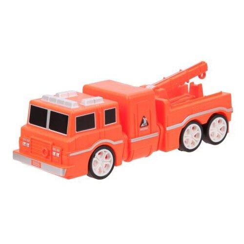 Купить Машинка Наша игрушка 223A 19 см оранжевый, Машинки и техника