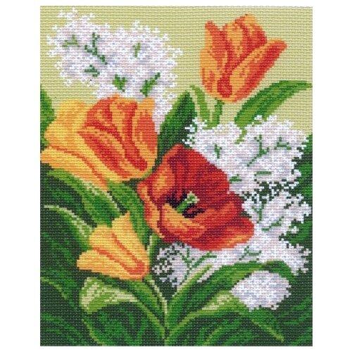 Купить Первые цветы Рисунок на канве 28/37 28х37 (20х25) Матренин Посад 0769-1, Матрёнин Посад, Канва