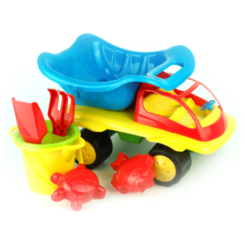 Купить Набор ZEBRATOYS 15-5060-1 голубой/желтый/зеленый/красный, Наборы в песочницу