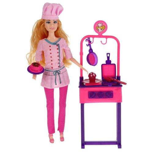 Купить Кукла Карапуз София повар, 29 см, B1720954-S-HU, Куклы и пупсы