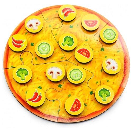 Пазл PAREMO Пицца вегетарианская (PE720-58), 20 дет. пазл paremo лев pe720 66 6 дет