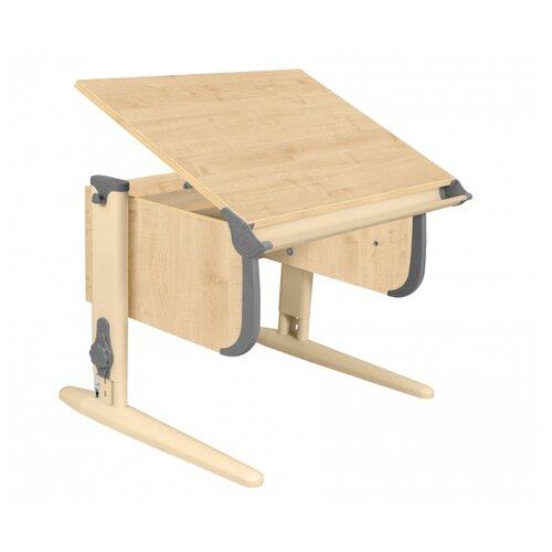Купить Стол ДЭМИ СУТ-24 75x55 см клен/серый/бежевый, Парты и столы