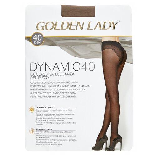 Колготки Golden Lady Dynamic, 40 den, размер 3-M, daino (бежевый) колготки golden lady armonia 40 den размер 3 m daino бежевый