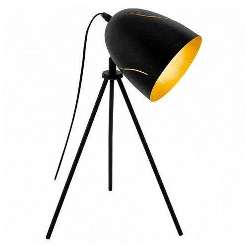 Фото - Настольная лампа Eglo Hunningham 43007, 60 Вт настольная лампа eglo montalbano 98381 60 вт