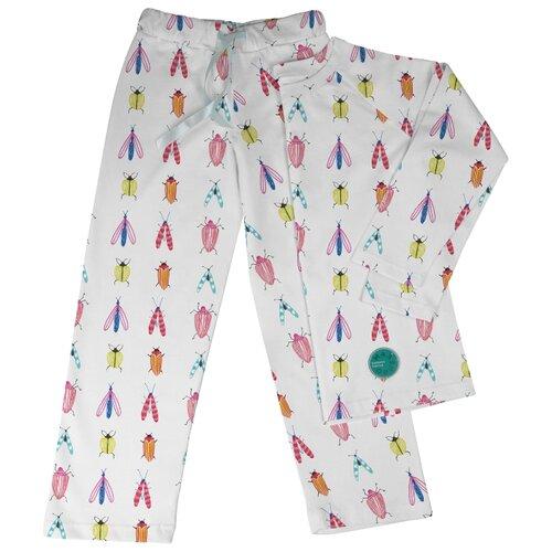 Пижама Marengo Textile размер 152, белый платье oodji ultra цвет красный белый 14001071 13 46148 4512s размер xs 42 170