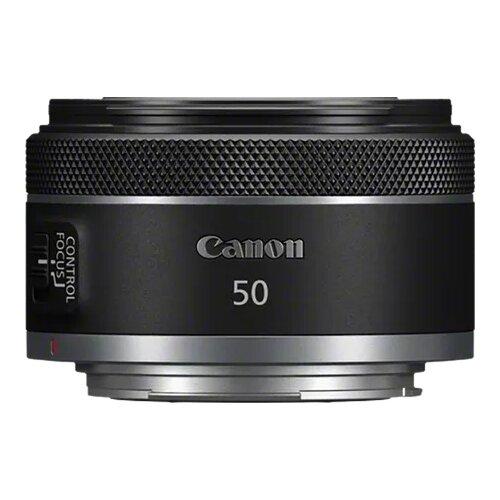 Объектив Canon RF 50mm F1.8 STM черный
