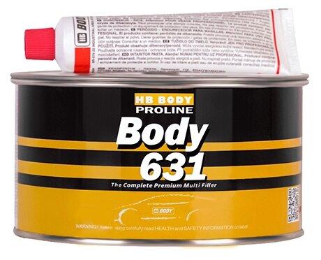 Комплект (шпатлевка, отвердитель) HB BODY Proline 631