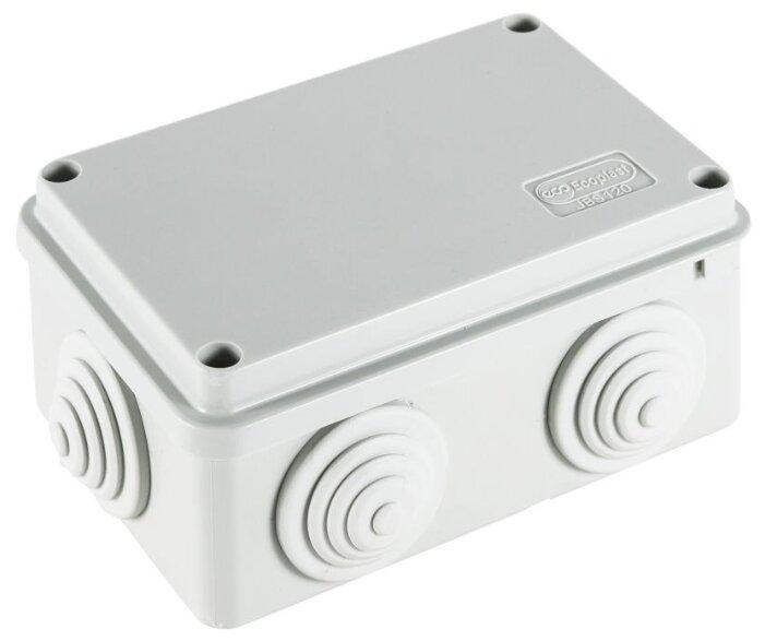 Распределительная коробка Ecoplast JBS120 наружный монтаж 120x80 мм