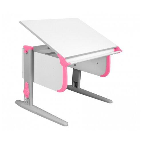 Купить Стол ДЭМИ СУТ-24 75x55 см белый/розовый/серый, Парты и столы