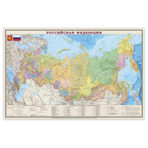DMB Политико-административная карта Россия 1:4 (4607048957158)